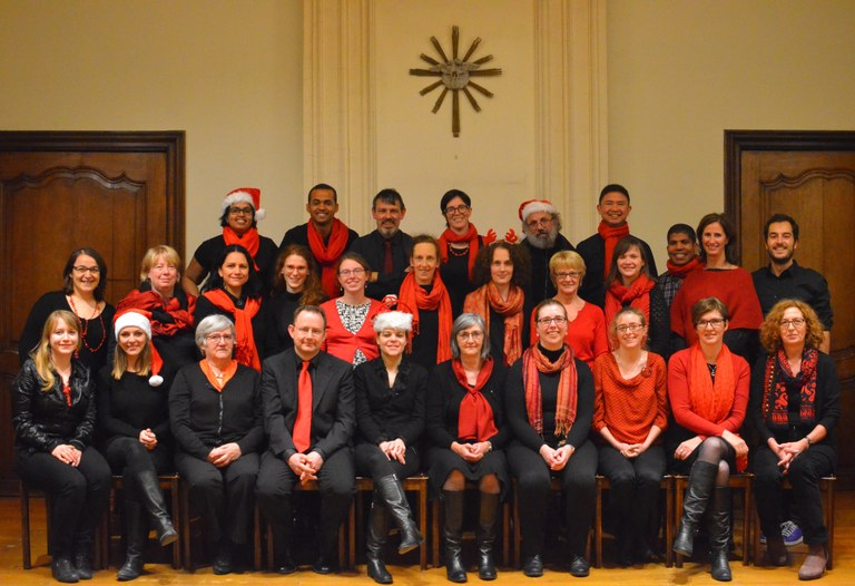 Capella Academica - koorleden 2016