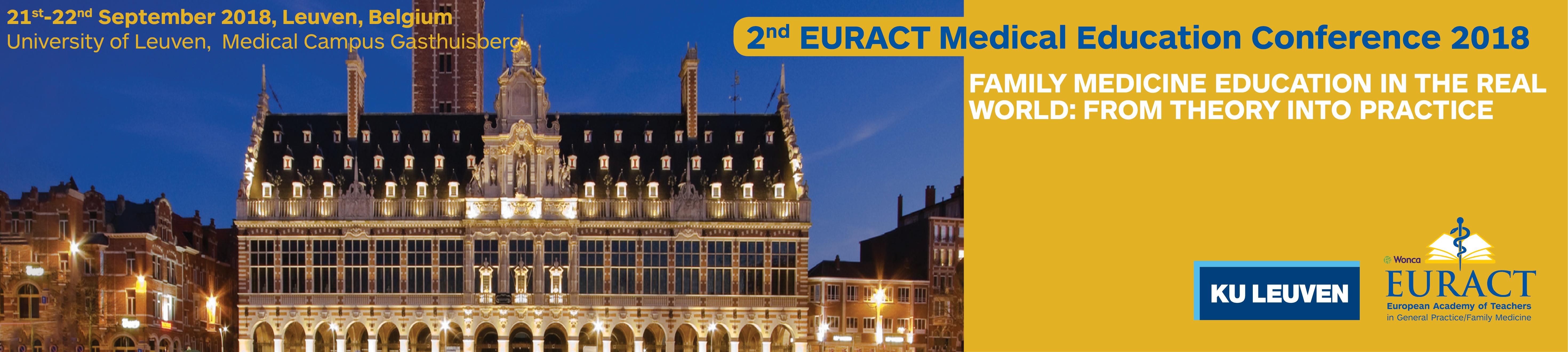 EURACT header