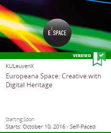 Europeana Space: Creative with Digital Heritage