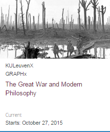 The Great War and Modern Philosophy