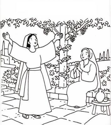 Kleurplaten Eucharistie.Zondag Vieren Met Kinderen En Jonge Gezinnen Gezinspastoraal