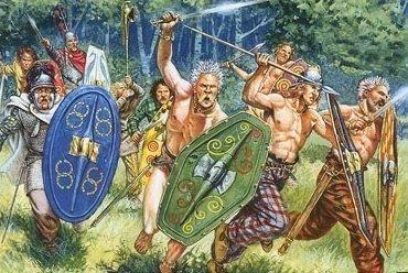 keltische volk galliers oorlog leger