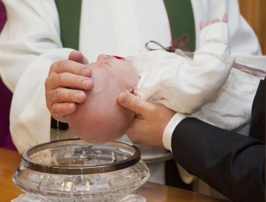 Christelijke Rituelen Dopen Met Water Thomas